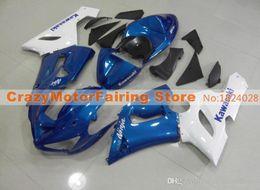 Body Ninja Zx Australia - 3 Free gifts New Fairing kits for 05 06 ZX 6R 636 2005 2006 Ninja ZX6R ZX636 ABS fairings Body kits hot sales white blue glossy