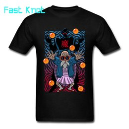 Clothes japan anime online shopping - T shirt Kame Sennin Tee Piccolo T Shirts Master Roshi Top Tshirt Men Japan Style Anime Clothes Vintage Punk
