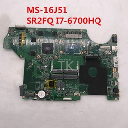 Msi I7 Australia - High quality For MS-16J51 Laptop motherboard With SR2FQ I7-6700HQ CPU GTX960M 100% full Tested