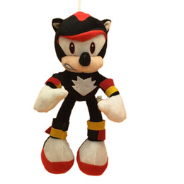 sonic hedgehog plush wholesale Australia - 25cm New Arrival Sonic the hedgehog Sonic Tails Knuckles the Echidna Stuffed animals Plush Toys gift X40