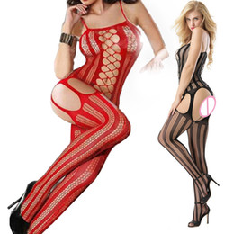 80d65f1ecc188 Sexy Bodysuits Shaperwear body shapers corset crop tops Women s Intimates  Plus Size sex knee socks Thigh High Socks open crotch