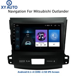$enCountryForm.capitalKeyWord Australia - Hot sale 9 inch 2.5D IPS Tempered HD multi-touch screen Android 8.1 NAVI for Mitsubishi Outlander 2006-2012 USB WIFI support SWC car dvd