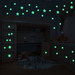sticker wall boy room Australia - 407pcs Stars and Butterfly Glow Sticker Kids Room Decoration Luminous Wall Sticker Decal Children Boy Girl Bedroom DIY Home Decor
