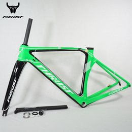 framing clamp Australia - Carbon Road Bike Frame T1000 Road Carbon Bicycle Frame 700C 48 50 52 54 56cm with Fork Seatpost Clamp Headset Free Shipping