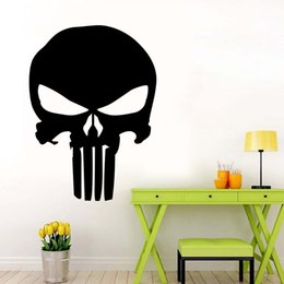 Discount punisher sticker car - Punisher Skull Film Classic Car Stickers Motorcycle Decals