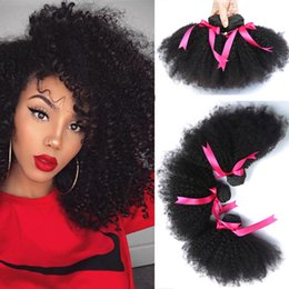 Wavy Curly Hair Wefts Australia - lace human hair wigs Brazilian Wave Virgin Hair Wefts Wet and Wavy Brazilian Human Hair Bundles Bundles Brazilian Curly Weave(8-20 inch)