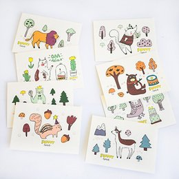 Post Cartoons Australia - The 3D cartoon animal greeting CARDS made of paper materials and support drop shipping