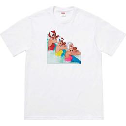 $enCountryForm.capitalKeyWord Australia - Mens womens designer sweatshirt round neck tees mens womens t shirt printing hip hop casual tee t shirts designer box logo black white S-XXL