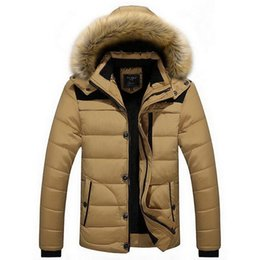 $enCountryForm.capitalKeyWord Australia - VXO Winter Jacket Men's Coat Winter Fur collar Parkas Men Hooded Coat Men Down Keep Warm Suitable for minus 30 degrees Celsius