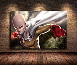 More Painting One Australia - One Punch Man,1 Pieces Home Decor HD Printed Modern Art Painting on Canvas (Unframed Framed) 24x36.