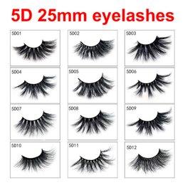 $enCountryForm.capitalKeyWord Australia - Top Item Makeup 5D 25mm Lashes 17 Styles Long Dramatic 25mm Long Thick Eyelashes Handmade False Eyelash Eye