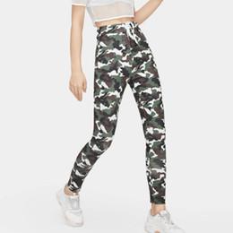 $enCountryForm.capitalKeyWord Australia - Yoga Pants Women High Waist Wide Pants Legs Top Women Casual Camouflage Sports Pencil Pocket Trousers Sport 2019