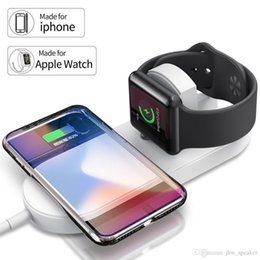 $enCountryForm.capitalKeyWord Australia - Airpower QI Wireless Charger 7.5W Fast Charging Pad Quick Charge 2.0 for Apple Watch iwatch Series 2 3 for iphone X 8 8plus Stand Pad