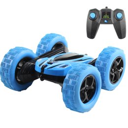 buggy rc car nitro UK - Hugine RC Car 2.4G 4CH Stunt Drift Deformation Buggy Car Rock Crawler Roll Car 360 Degree Flip Kids Robot RC Cars Toys for Gifts Y200413
