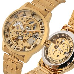 $enCountryForm.capitalKeyWord Australia - Luxury Golden Frame Automatic-self-winding Watch for Men Waterproof Mechanical Watch Practical Night Light Function Mechanical Watch