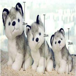 $enCountryForm.capitalKeyWord UK - s gift HOT Kawaii 18-28 CM Simulation Husky Dog Plush Gift For Kids baby toy birthday present Stuffed Plush Toy CM