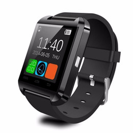bluetooth silicone smart watch Australia - Smart Watch U8 Multifunctional Bluetooth V3.0 + EDR Smart Wrist Watch Phone Camera Card Mate Universal For Phone A43