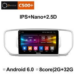 "navigator car UK - 9"" 2.5D Nano IPS Screen Android Octa Core 4G LTE Car Media Player With GPS RDS Radio Bluetooth For KIA KX5 2016 (Sportage 4) #3810"