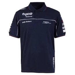 pu polo UK - 2020 TAS Racing Motorcycle Moto Shirt for Team Outdoor Sweatshirt GP Polo Shirt tyco Motorrad Polo Men's Short Motorbike