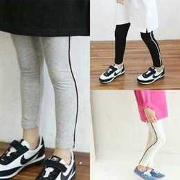 Cotton Black Trouser For Girls Australia - DHgate 100 Cotton Children Sport Leggings For Girls Trousers From Chinese Suppliers
