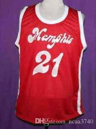 red basketball jerseys NZ - Custom Men Youth women Vintage LARRY FINCH RED Sounds RETRO 1972-74 Home # Basketball Jersey Size S-4XL or custom any name or number jersey