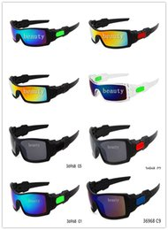 Girls Ski Goggles Australia - 400pcs Mens Dazzle Conjoined Outdoor Sports Cycling Sunglasses New Brand Designer OILRIG Ski Gycling Goggles 9 Colors HH123