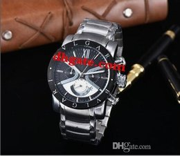 Brand Luxury Style Watch Australia - High quality Italy luxury jewelry brand watch,AAA quality Tungsten steel Men's quartz INVICTA style watch All functions can work
