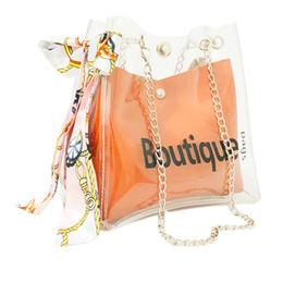 $enCountryForm.capitalKeyWord NZ - Women clear bag bucket bag Fashion Transparent Women Shoulder Bags Ladies Messenger Casual Shopping Scarves Handbags #NG