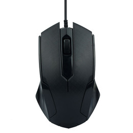 Used Quality Laptops Australia - 1200DPI USB Wired Mouse 3D Black Optical Gaming Mice USB Business Office Home Use High Quality Mouse For PC Laptop Notebook L022