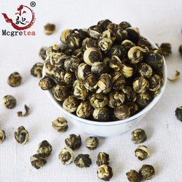 very good flowers 2020 - 2019 very good china tea 250g Blooming 100% JASMINE DRAGON PEARLS TEA FREE SHIPPPING Green Tea cheap very good flowers