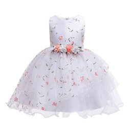 $enCountryForm.capitalKeyWord Australia - 2019 New Christmas Princess Girls Party Dresses For Party Baby Fashion Pink Tutu Dress Girls Wedding Dress Kids Dress Y19061501