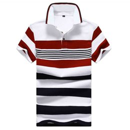 Polo 4xl Australia - Cotton camisa Men Polo Shirt 2015 Casual Striped Slim short sleeves ASIAN SIZE M-4XL M3-1111