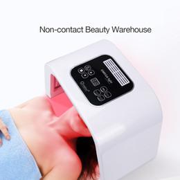 7 Light LED Facial Mask PDT Light For Skin Therapy Beauty machine For Face Skin Rejuvenation salon beauty equipment on Sale
