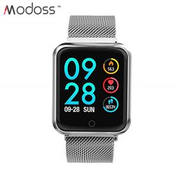 $enCountryForm.capitalKeyWord Australia - ZZYD P68 Smart Watch Bracelet With Blood Pressure Heart Rate Monitor Pedometer Fitness Tracker Smartwatch For Android And IOS