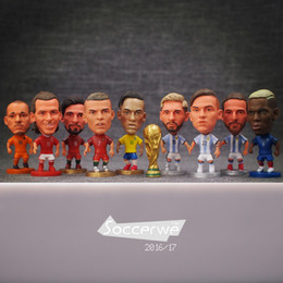 $enCountryForm.capitalKeyWord Australia - Soccerwe World Cup Soccer Star Lovely Action Figure Model Toys Football Dolls Gift Cronaldo Pogba Ibrahimovic Bale Neymar