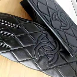 Fashion-леди кожаные перчатки, зима изоляция плюс бархат леди сенсорный экран перчатки, с коробкой на Распродаже