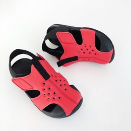 Beach Shoes For Boys Australia - Youth SUNRAY Sandals Cover Head Waterproof Non-Slip Fashion Girls Boys Summer For Kids Children's Sandals Beach Shoes Summer outdoor sandals