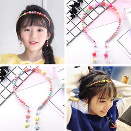 $enCountryForm.capitalKeyWord Australia - New Arrival Candy Color multiple Beads Hairbands Beach Kids Girl Hair Accessories