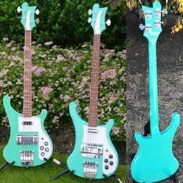 $enCountryForm.capitalKeyWord UK - 4 Strings 4003 Electric Bass Guitar Multicolour Blue Green White Black Red One PC Neck & Body Chrome Hardware Ric China Bass