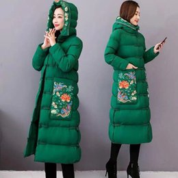 $enCountryForm.capitalKeyWord Australia - Winter Coat Women Karpas Thicken Ethnic Style Retro Cotton-padded Long Plus Size Winter Jacket Women Exquisite Embroider A242