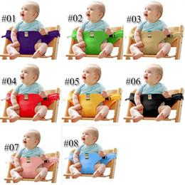 $enCountryForm.capitalKeyWord Australia - 8 Colors Baby Portable Seat Children Dining Chair Belt Candy colors Eat Chair Seat Belt Dining Seat Harness Baby Belt Safety DHL