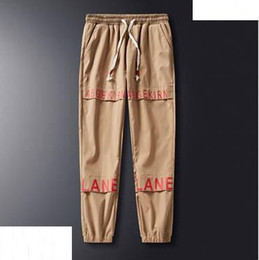 Mens lightweight casual trousers online shopping - 2019designer Mens Side Pockets Cargo Harem Pants Hip Hop Casual Male Tatical Joggers Trousers Fashion Casual Streetwear Pants S XL B100197Q