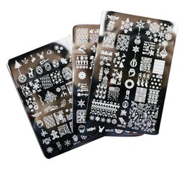 3pcs Nail Stamping Plates Nail Art Decorations Stamp Decoration Designs Nail Art Image Stamp For Nails Manicure Tools