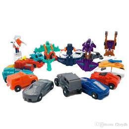 Venta al por mayor de MINI Transformation Toys Tobot 1 2 Generation Deformation Car Plane Ship Figura de acción Modelo Juguetes para niños