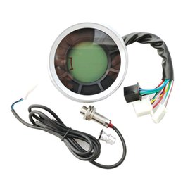 motorcycle digital tachometers UK - Speedometer Tachometer LCD Digital Backlight Motorcycle For 1,2,4 Cylinder
