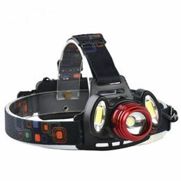 $enCountryForm.capitalKeyWord Australia - ZHISHUNJIA YH6783 1xXMLT6+2xCOB 900lm LED 4Mode White Zooming Focus Headlight