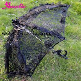 $enCountryForm.capitalKeyWord Australia - Free Shipping Gothic Party Shower Women Lace Umbrella Wedding Groom's Umbrella for Photo