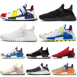 $enCountryForm.capitalKeyWord NZ - Human Race Men Running Shoes Pharrell Williams BBC Equality Cream Nerd Tanger Oreo Women Mens Traienr Outdoor Sports Sneakers Discount