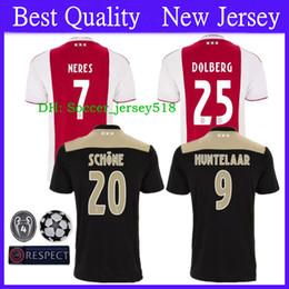 cf190d10f83 Discount soccer jersey shirt free shipping -  ) Free Shipping 2018 2019  Ajax Soccer Jersey
