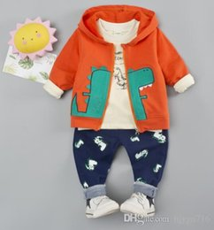 $enCountryForm.capitalKeyWord Australia - Spring 2019 New Creative Three-piece Kids'Fashion Long Sleeve Kids' Clothes for Boys and Girls Best-selling new models SIZE 80T-11